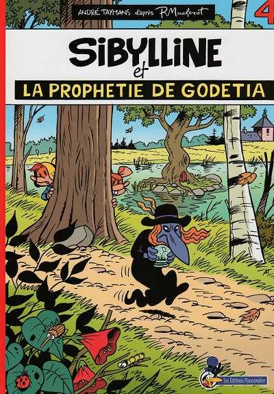 Couverture de Sibylline -154- Sibylline et la prophétie de Godetia