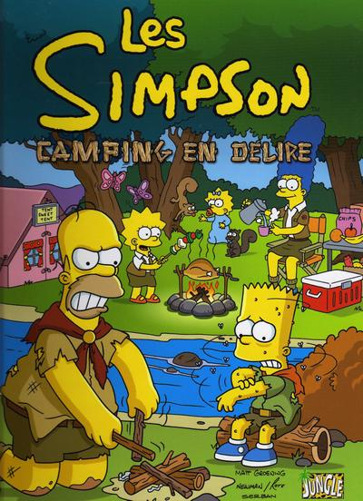 Couverture de Les simpson (Jungle !) -1- Camping en délire