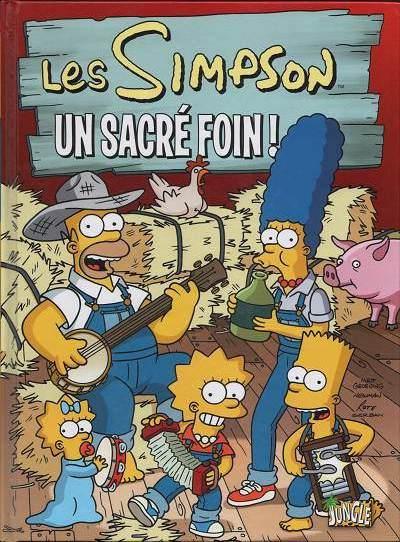 Couverture de Les simpson (Jungle !) -2- Un sacré foin !