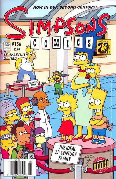 Couverture de Simpsons Comics (1993) -156- Save the world