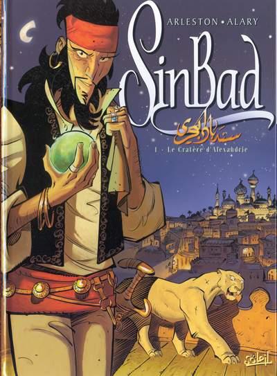 Couverture de SinBad -1- Le Cratère d'Alexandrie