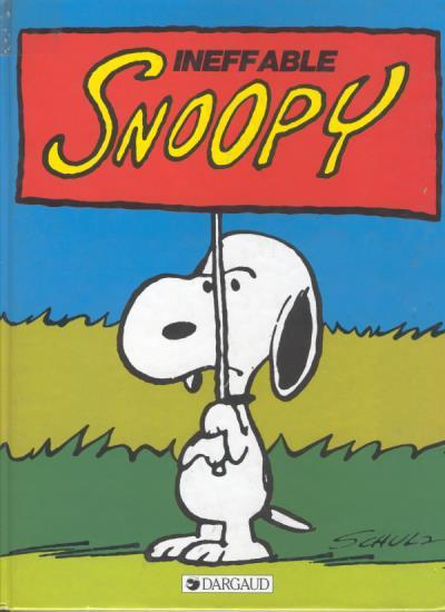 Couverture de Peanuts -6- (Snoopy - Dargaud) -8- Ineffable Snoopy