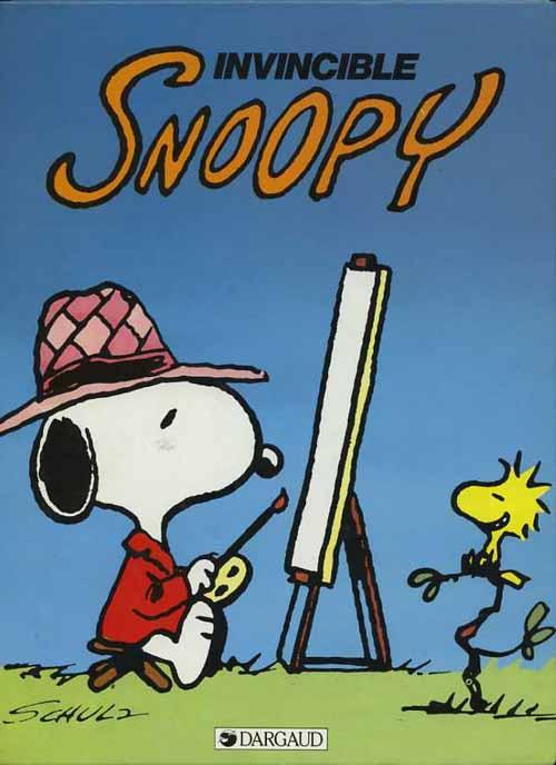 Couverture de Peanuts -6- (Snoopy - Dargaud) -9- Invincible Snoopy