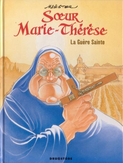 Couverture de Sœur Marie-Thérèse -6- La Guère Sainte