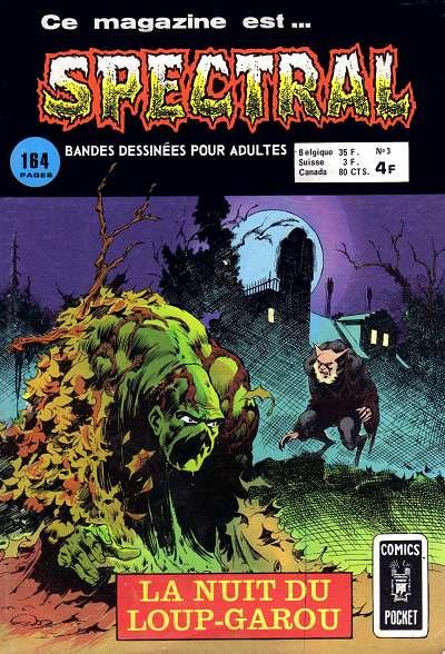 Couverture de Spectral (1re série) -3- La nuit du loup-garou