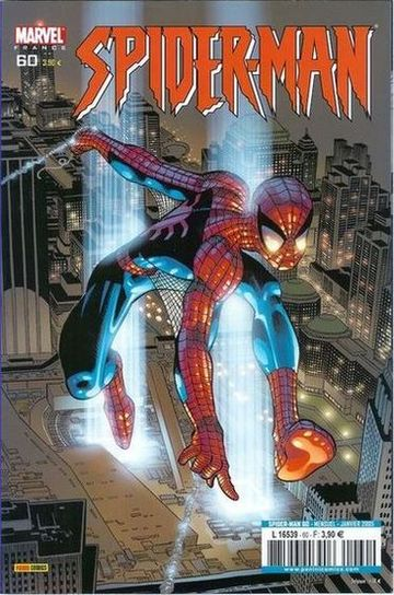 Couverture de Spider-Man (Marvel France 2e série - 2000) -60- Vibrations