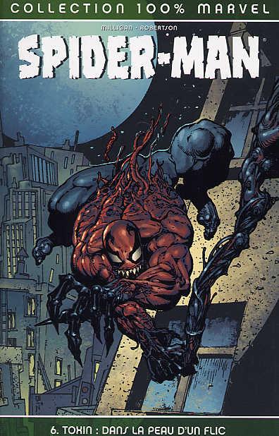 Couverture de Spider-Man (100% Marvel) -6- Toxin : dans la peau d'un flic