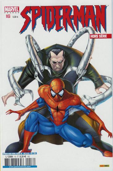 Couverture de Spider-Man Hors Série (Marvel France puis Panini Comics, 1re série) -16- Hors d'atteinte
