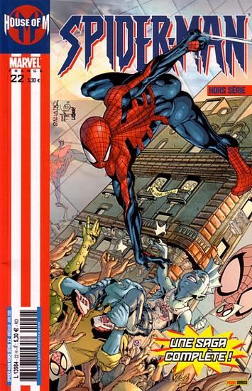 Couverture de Spider-Man Hors Série (Marvel France puis Panini Comics, 1re série) -22- House of M