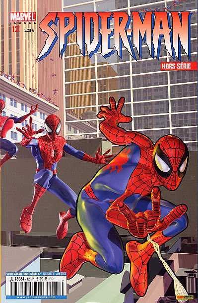 Couverture de Spider-Man Hors Série (Marvel France puis Panini Comics, 1re série) -12- Une leçon de vie