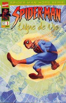Couverture de Spider-Man Hors Série (Marvel France puis Panini Comics, 1re série) -3- Spider-Man: Ligne de vie