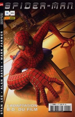 Couverture de Spider-Man Hors Série (Marvel France puis Panini Comics, 1re série) -6- L'adaptation B.D. du film