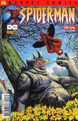 Couverture de Spider-Man Hors Série (Marvel France puis Panini Comics, 1re série) -8- Tendre Rhino