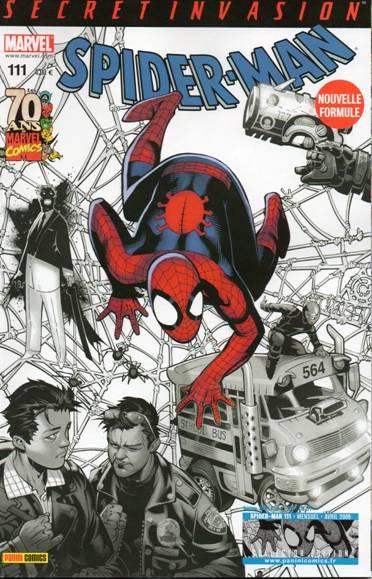 Couverture de Spider-Man (Marvel France 2e série - 2000) -111Col- La première chasse de Kraven (1/2)