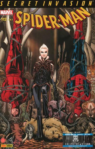 Couverture de Spider-Man (Marvel France 2e série - 2000) -112Col- La première chasse de Kraven (2/2)