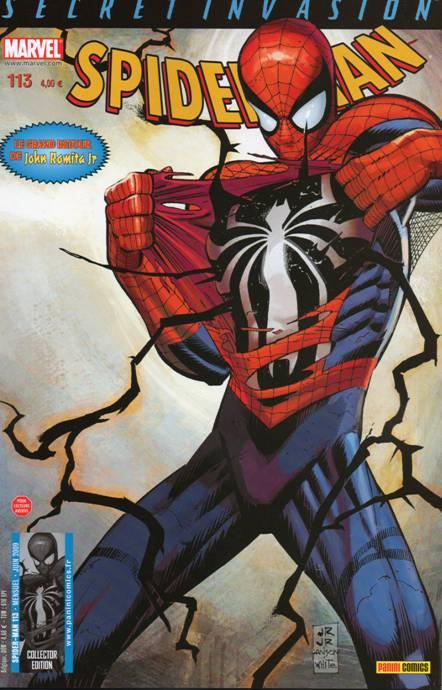 Couverture de Spider-Man (Marvel France 2e série - 2000) -113- Phase terminale