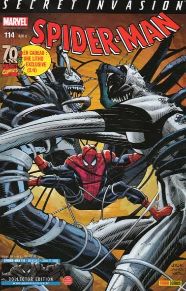 Couverture de Spider-Man (Marvel France 2e série - 2000) -114- 36 façons de mourir