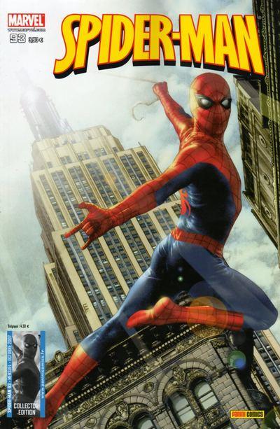 Couverture de Spider-Man (Marvel France 2e série - 2000) -93- Les blessures de la vie