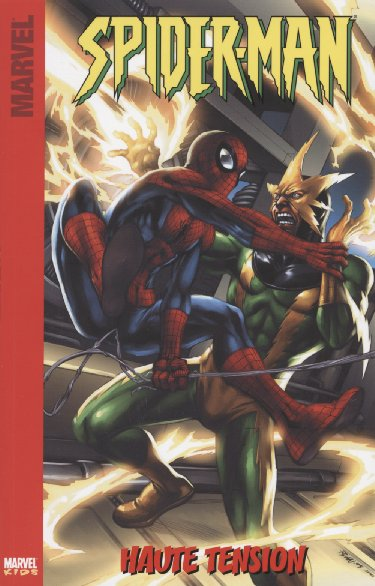 Couverture de Spider-Man (Marvel Kids) -2- Haute Tension
