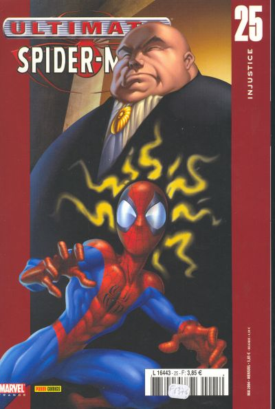 Couverture de Ultimate Spider-Man (1re série) -25- Injustice