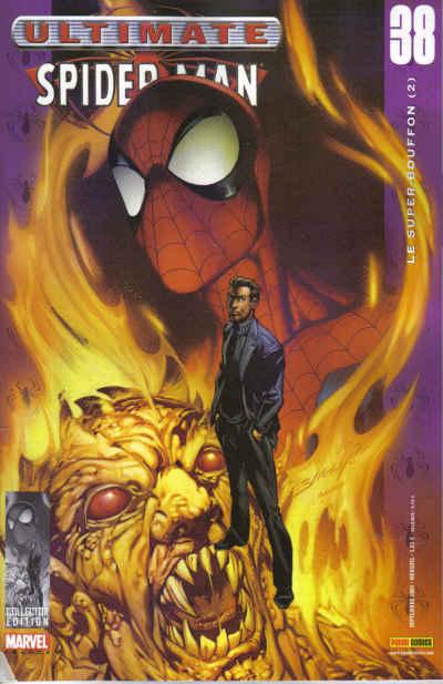 Couverture de Ultimate Spider-Man (1re série) -38- Le super-bouffon (2)