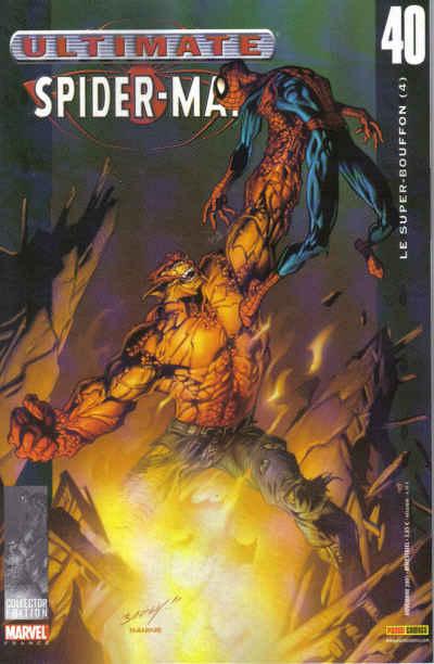 Couverture de Ultimate Spider-Man (1re série) -40- Le super-bouffon (4)