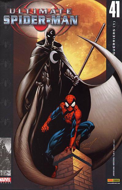 Couverture de Ultimate Spider-Man (1re série) -41- Guerriers (1)
