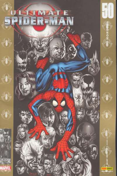 Couverture de Ultimate Spider-Man (1re série) -50- Morbius