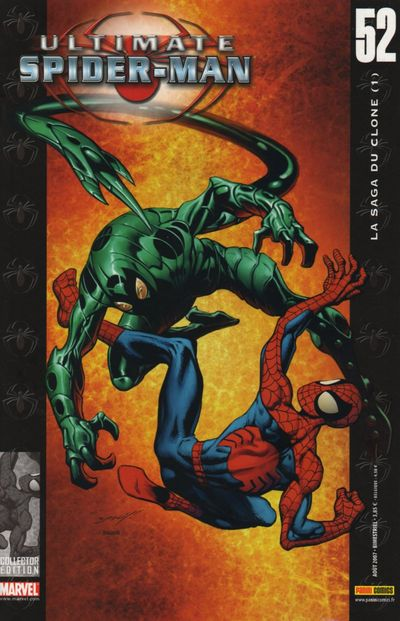 Couverture de Ultimate Spider-Man (1re série) -52- La saga du clone (1)