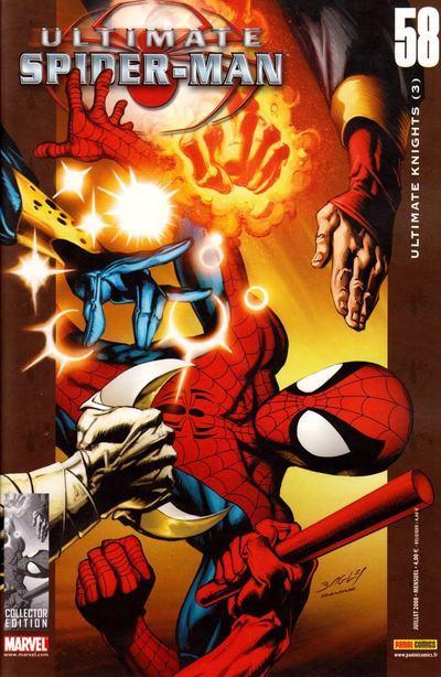 Couverture de Ultimate Spider-Man (1re série) -58- Ultimate knights (3)