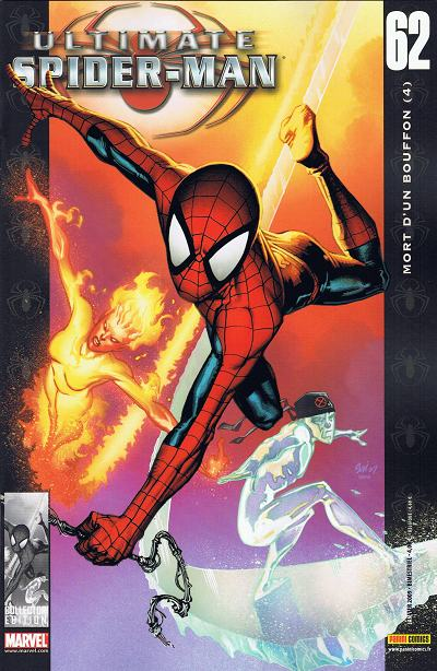 Couverture de Ultimate Spider-Man (1re série) -62- Mort d'un bouffon (4)