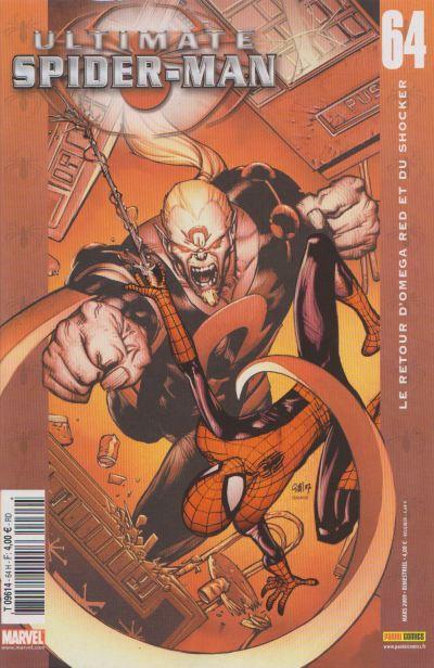 Couverture de Ultimate Spider-Man (1re série) -64- Le retour d'Omega Red et du Shocker