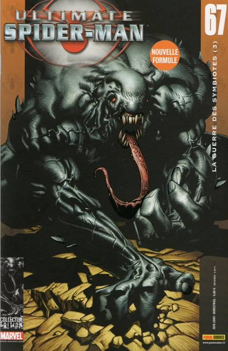 Couverture de Ultimate Spider-Man (1re série) -67- La guerre des symbiotes (3)
