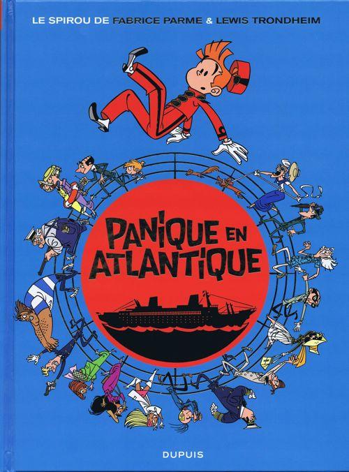 Couverture de Spirou et Fantasio (Une aventure de.../Le Spirou de...) -6- Panique en Atlantique