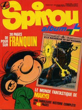 Couverture de Spirou (Almanachs & Album+) -11- Spirou Album+ n°6
