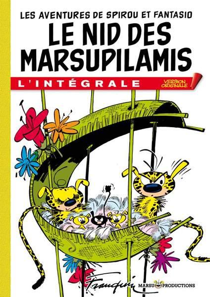 spirou et fantasio tome 12 le nid des marsupilamis