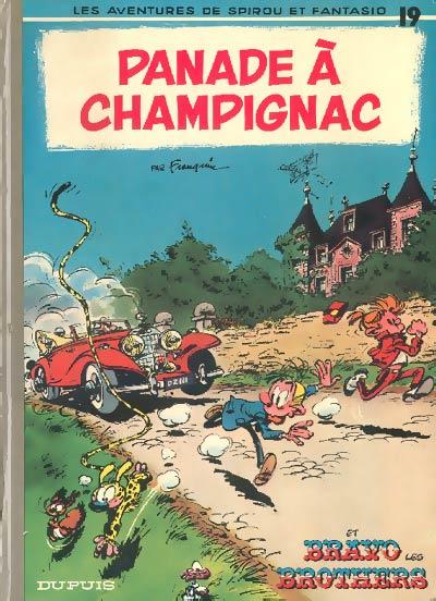 Couverture de Spirou et Fantasio -19- Panade à Champignac