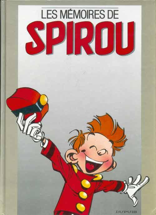 Couverture de Spirou et Fantasio -2- (Divers) -H- Les mémoires de spirou