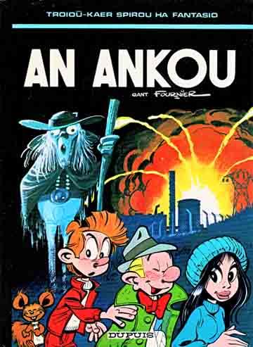Couverture de Spirou et Fantasio (en langues régionales) -27Bret- An ankou