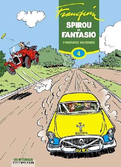 Couverture de Spirou et Fantasio -6- (Int. Dupuis 2) -4- Aventures modernes