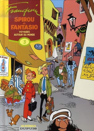Couverture de Spirou et Fantasio -6- (Int. Dupuis 2) -3- Voyages autour du monde