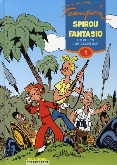 Couverture de Spirou et Fantasio -6- (Int. Dupuis 2) -1- Les débuts d'un dessinateur