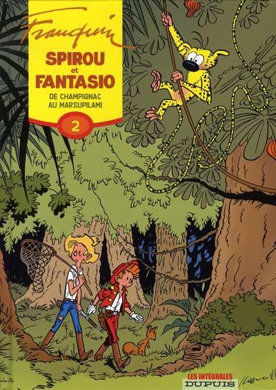 Couverture de Spirou et Fantasio -6- (Int. Dupuis 2) -2- De Champignac au Marsupilami