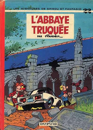 Couverture de Spirou et Fantasio -22- L'abbaye truquée
