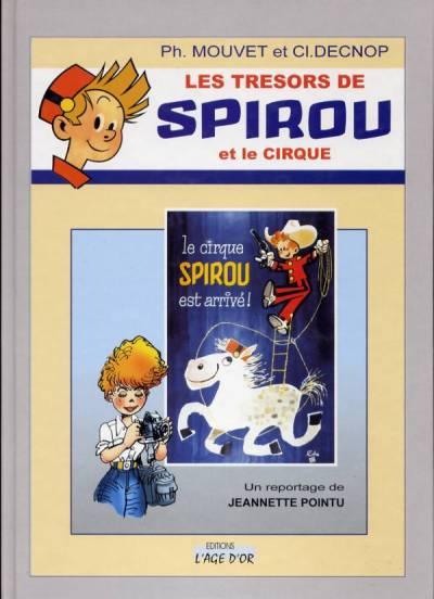 Couverture de Spirou et Fantasio -2- (Divers) -TS2- Les trésors de Spirou et le cirque