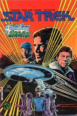 Couverture de Star Trek (Aredit) -3- L'origine de Saavik