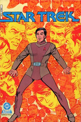 Couverture de Star Trek (Aredit) -8- Repos et récréation