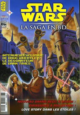 Couverture de Star Wars - BD Magazine / La saga en BD -11- Émissaires de Malastare - Une histoire de saint Valentin