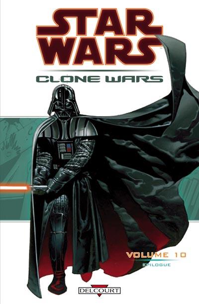Couverture de Star Wars - Clone Wars -10- Epilogue