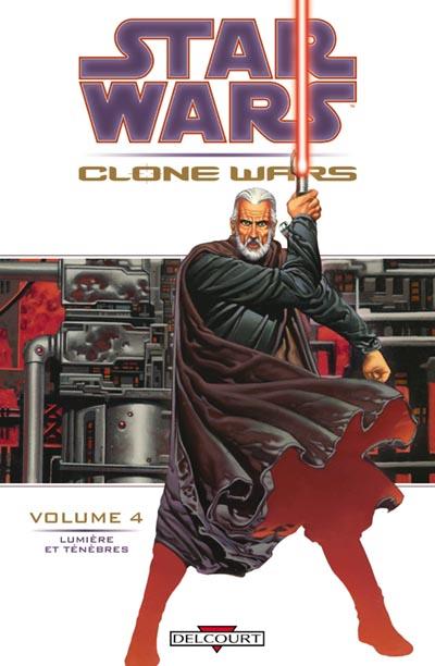 Couverture de Star Wars - Clone Wars -4- Lumière et Ténèbres